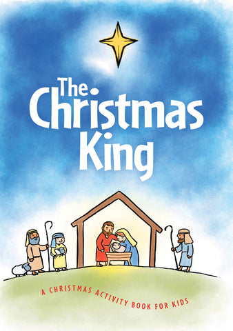 The Christmas King activity book