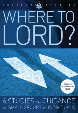 Where to, Lord? (Workbook)