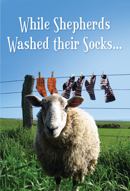 While Shepherds Washed their Socks