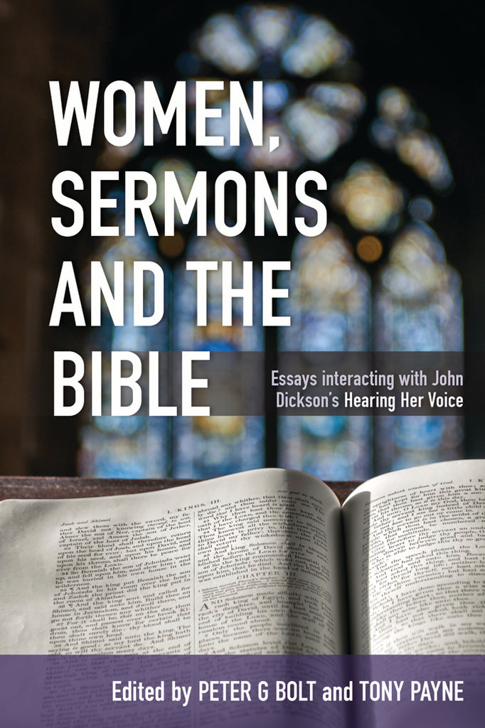Women, Sermons and the Bible