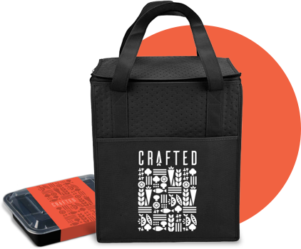 Crafted packaging and bag