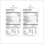Get Crafted Meals Cashew Chicken 8oz Nutritionals