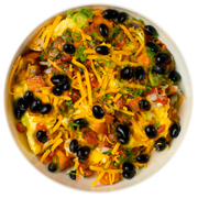 Get Crafted Meals Breakfast Burrito Bowl with Whole Eggs, Black Beans, Low Fat Cheddar, Pico de Gallo, and Sweet Potato