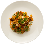 Get Crafted Meals Chicken Tagine with Dried Apricots, Sliced Almonds, and Cauliflower Rice