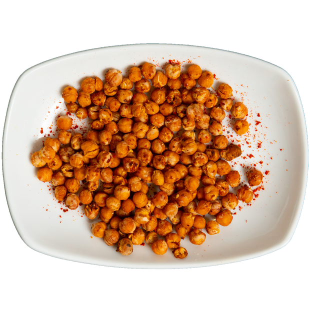 Crispy Roasted Spiced Chickpeas