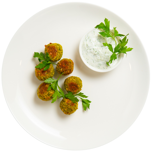 Get Crafted Meals Baked Falafel Bites with Tzatziki