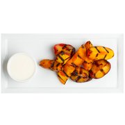 Get Crafted Meals Grilled Seasonal Stone Fruits with Greek Yogurt Dipping Sauce