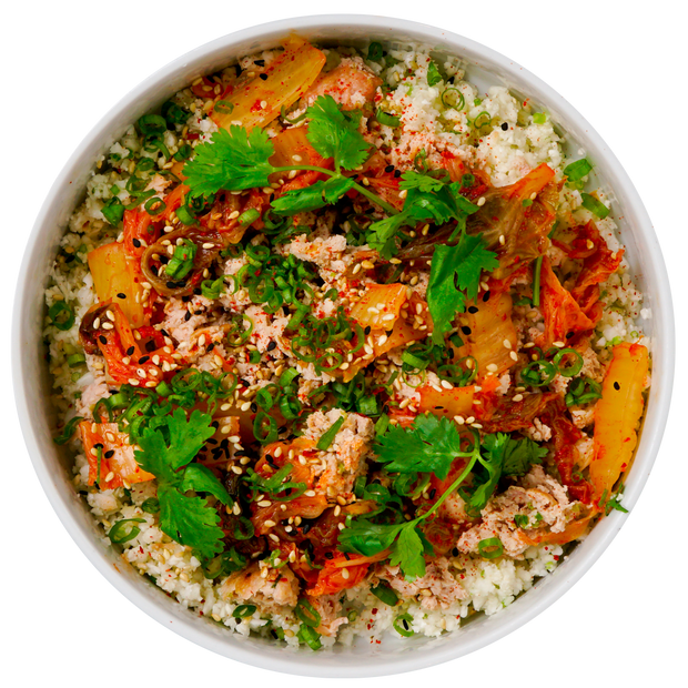 Korean Ground Turkey Bowl