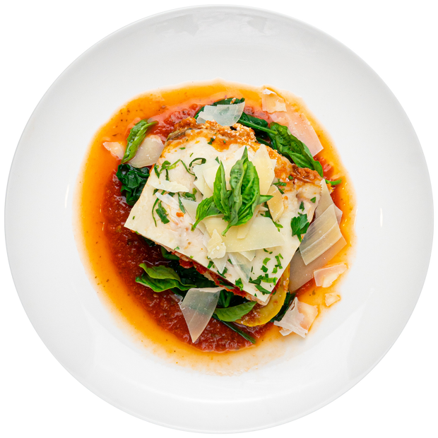 Get Crafted Meals Turkey Lasagna with Spinach, Basil, Marinara, Parmesan, and Mozzarella