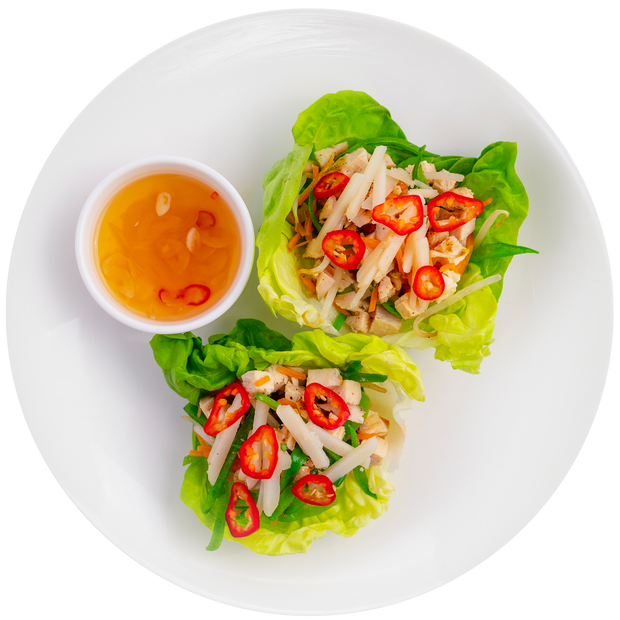Thai Chicken Lettuce Cups