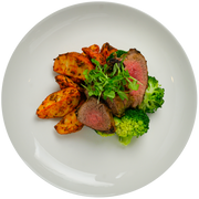 Get Crafted Meals Chimichurri Grilled Tri Tip with Herb Roasted Red Potatoes and Steamed Broccoli