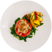 Turkey & Grilled Vegetable Stuffed Bell Pepper