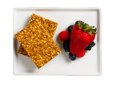 Get Crafted Meals Pumpkin Spice Energy Bar with Fresh Berries
