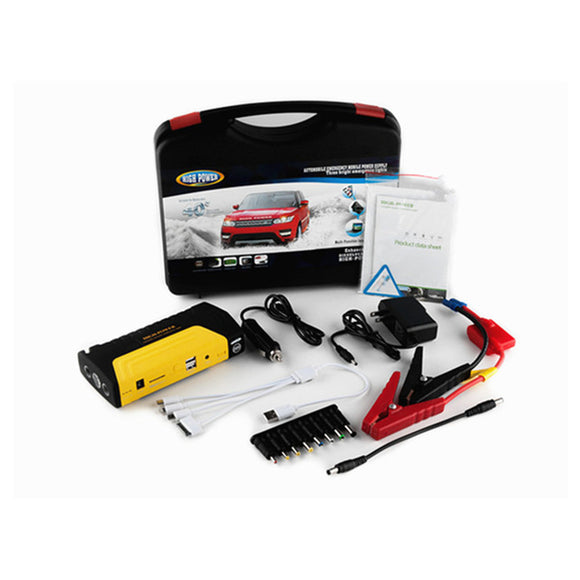 Emergency High Power Portable Car Jump Starter Kit