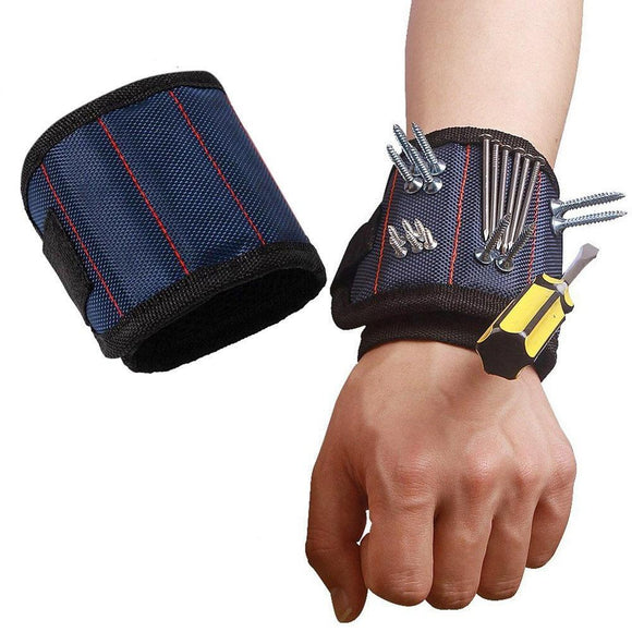Polyester Magnetic Wristband Portable Tool Bag - YeeSales