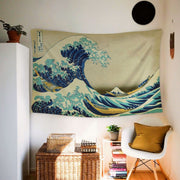 WALLHANG Hokusai The Great Wave at Kanagawa Duvar Örtüsü
