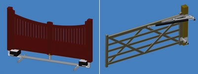 Industrial Design Service Gates