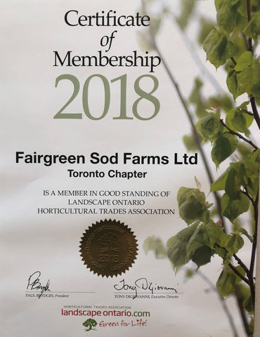 Fairgreen Sod Farms Landscape Ontario Horticultural Traders Association