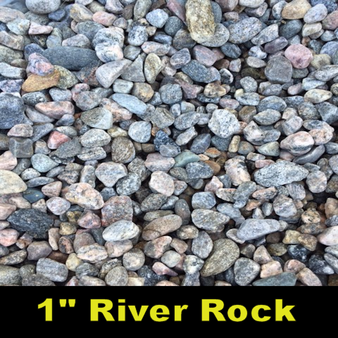 "River Rock 1"" or less"