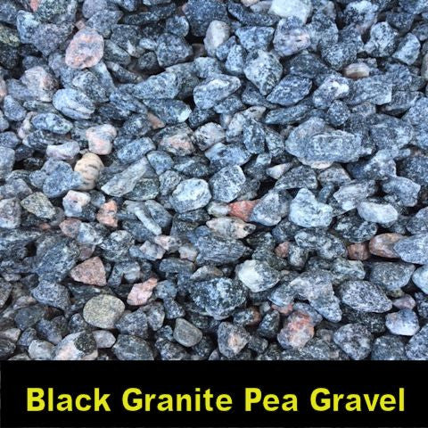 Black Granite Pea Gravel