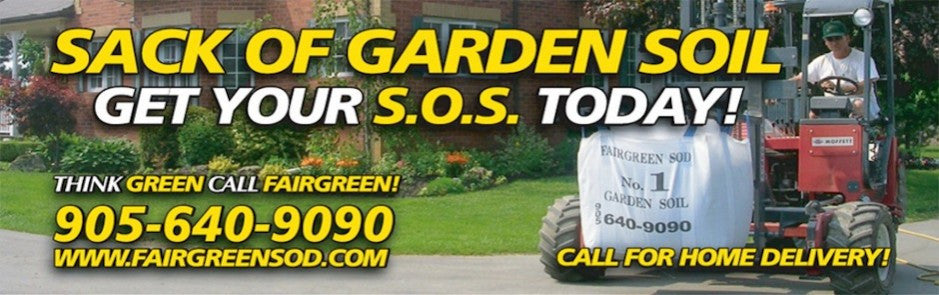 Sacks of Garden Soil with Delivery