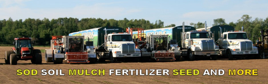 Sod Soil Mulch Seed Fertilizer and More