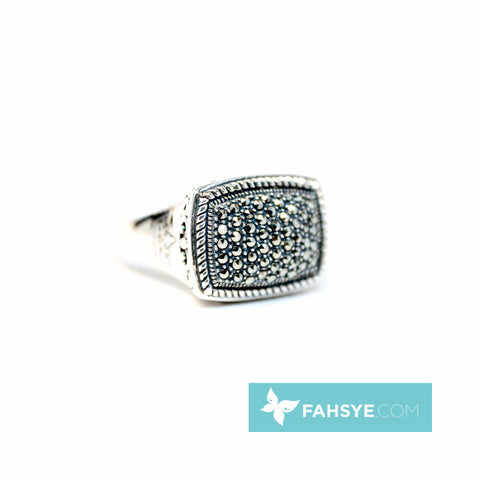 MARC - Men Marcasite Ring - 710