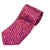 Silk Blend Tie - Red and purle check pattern
