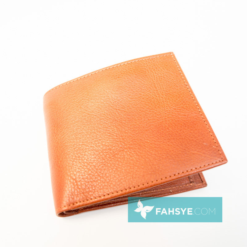Men's Wallet - Classic Orange