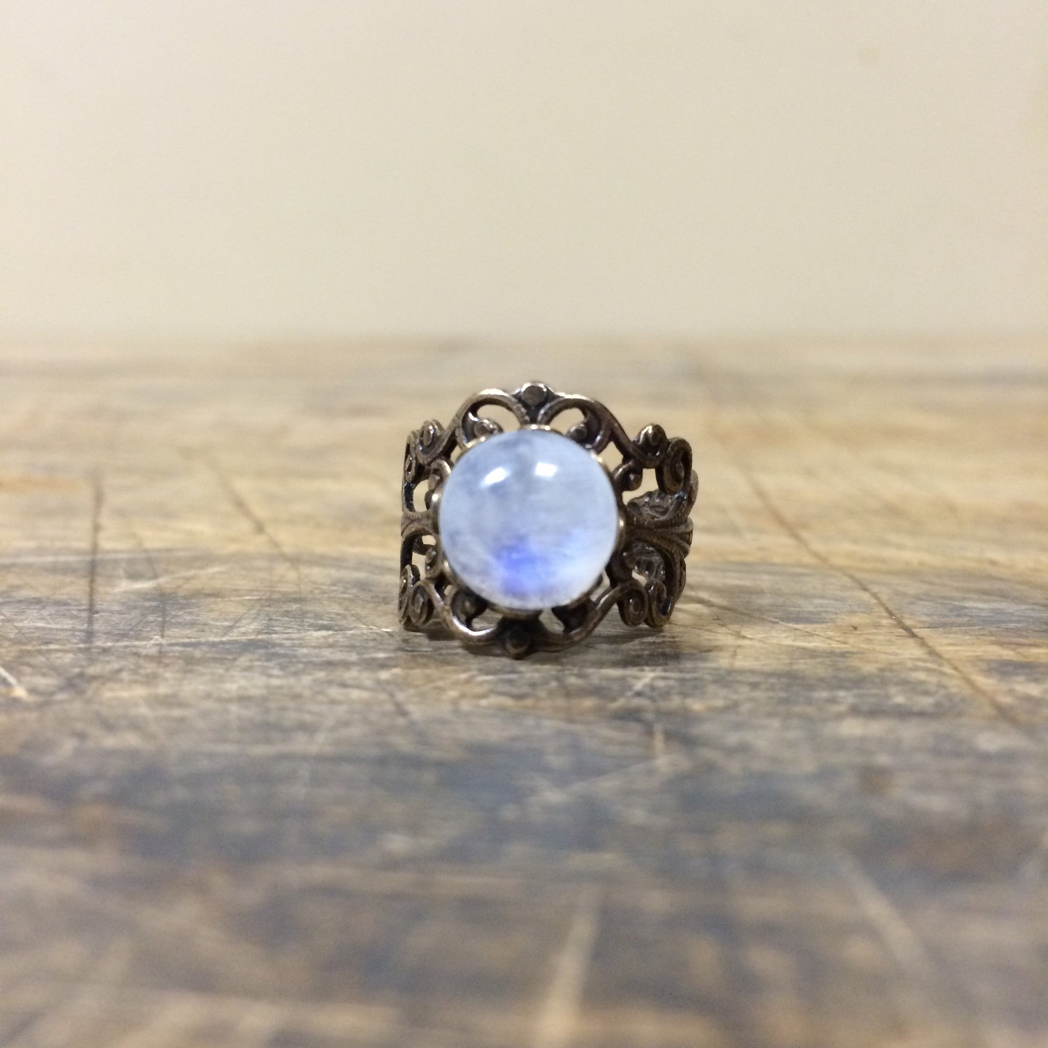 Handmade Moonstone Ring