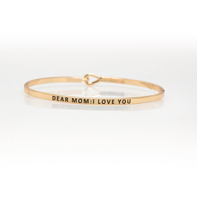 Dear Mom: I Love You