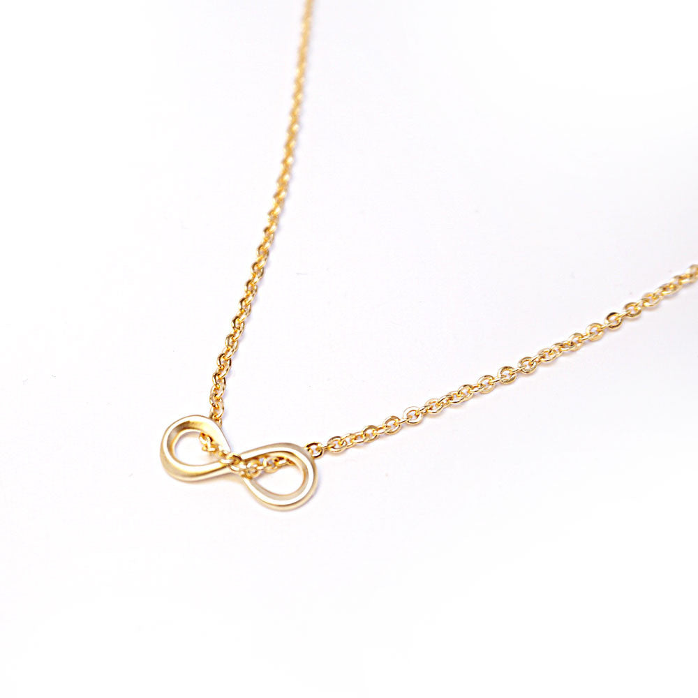 Mini Infinity Necklace - Gold