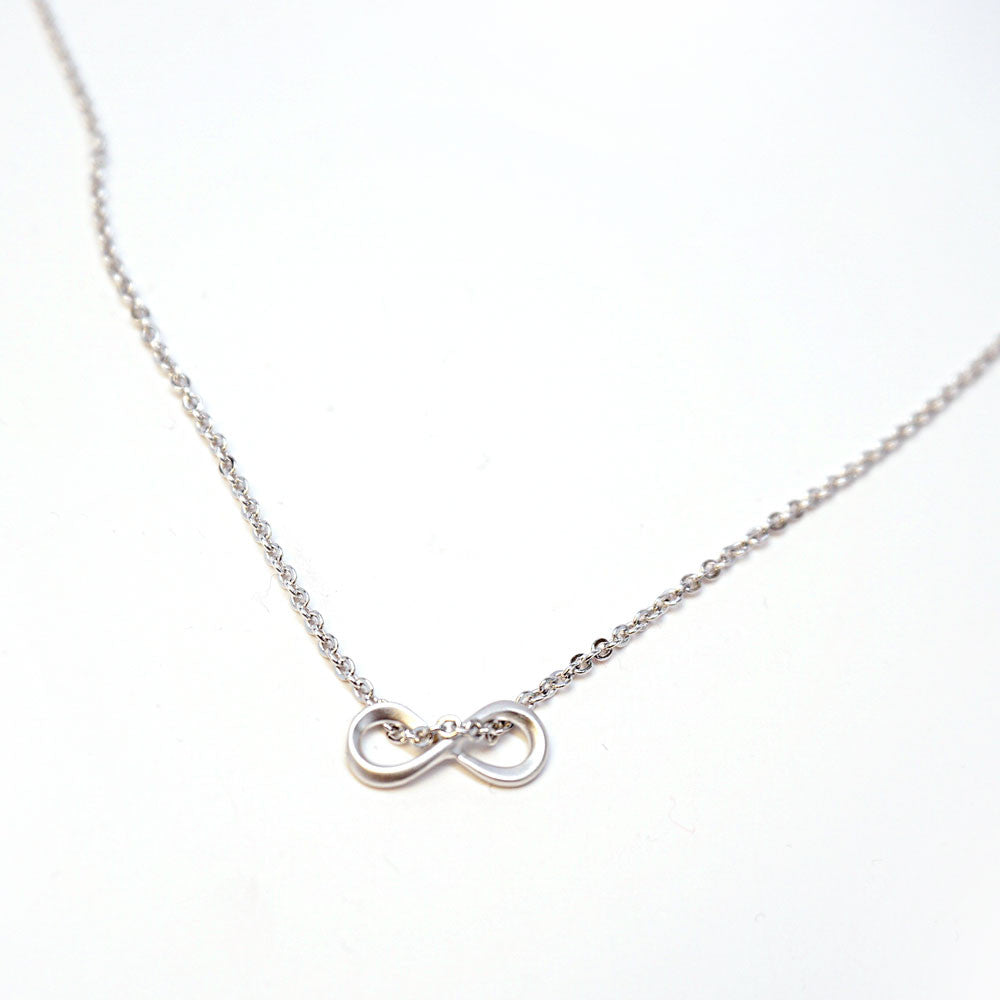 Mini Infinity Necklace - Silver