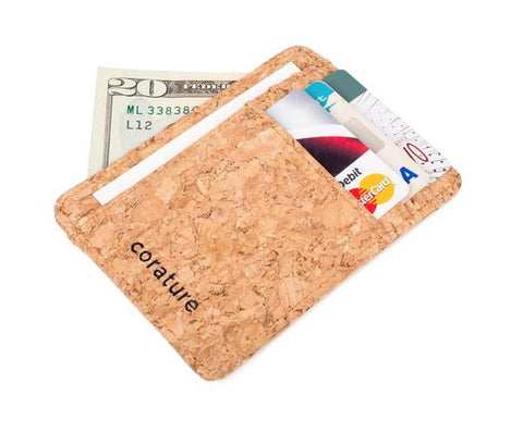 Cork Minimalist Wallet (click for more colors)