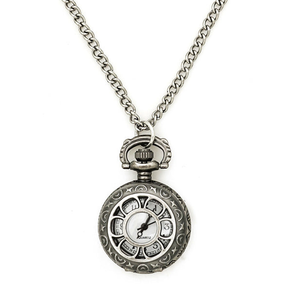 Art Deco Pocket Watch Necklace (More colors available)