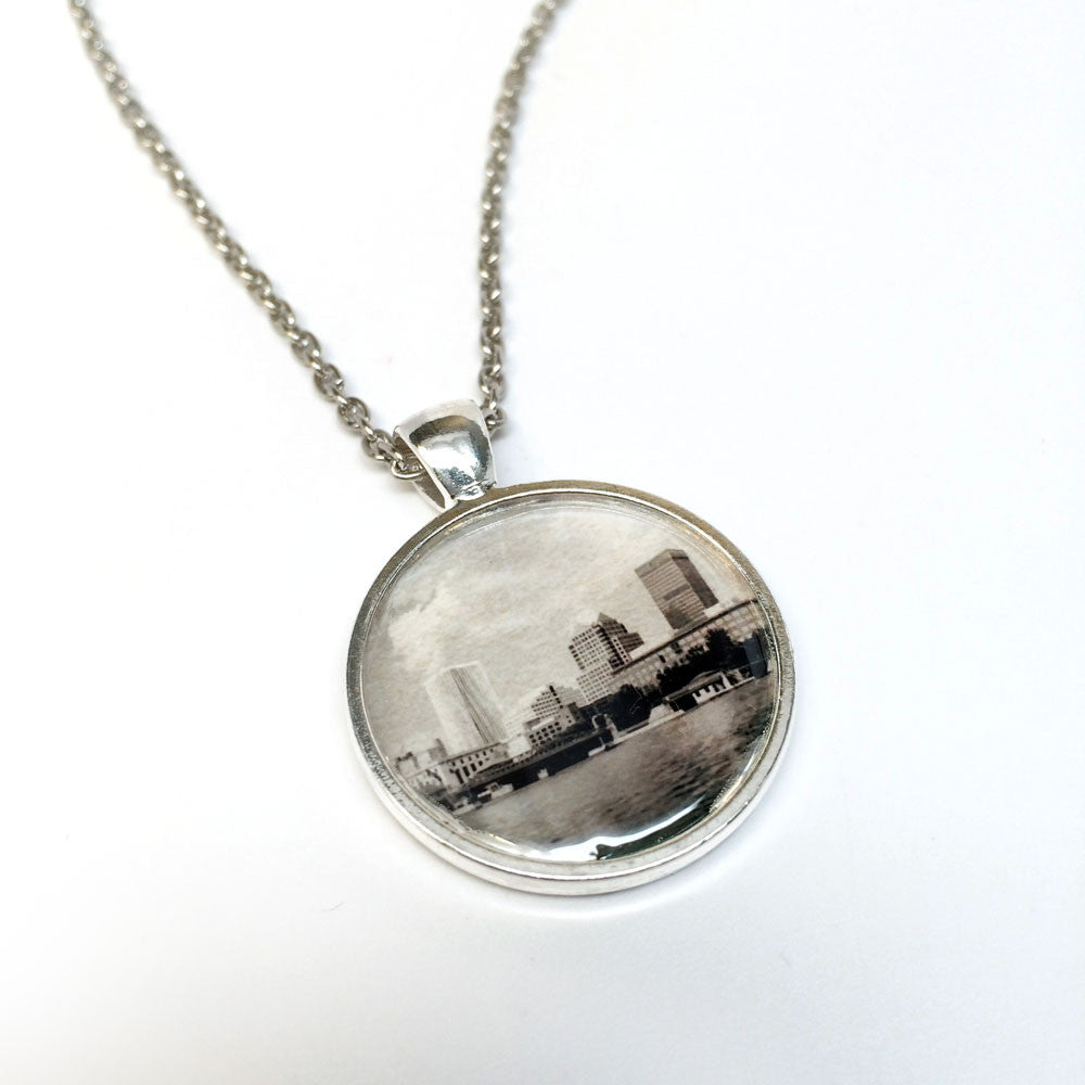 ROC Necklace - Rochester Skyline