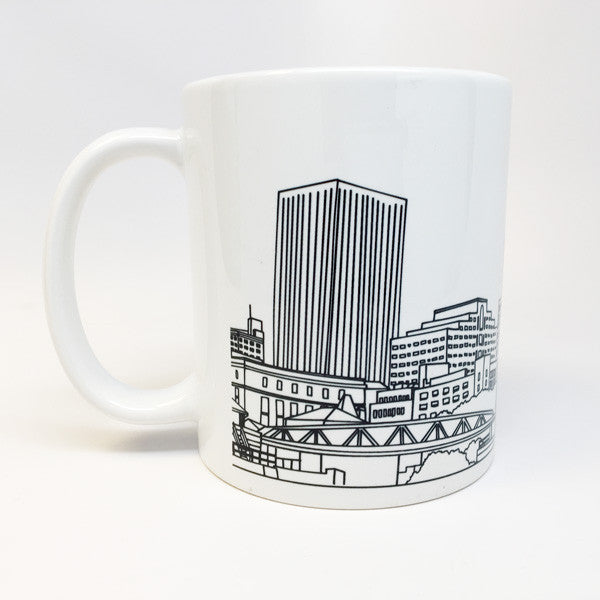 Rochester Skyline Coffee Mug