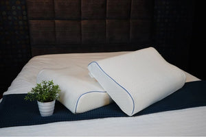 Ergonomic Contour Latex Pillow