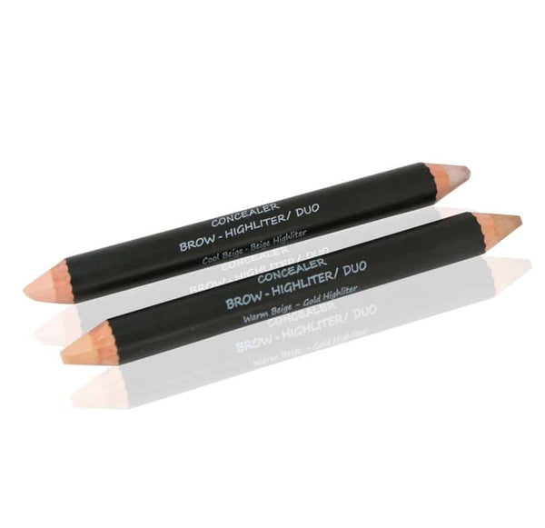 Concealer Brow Highlighter Duo - Alluring Minerals