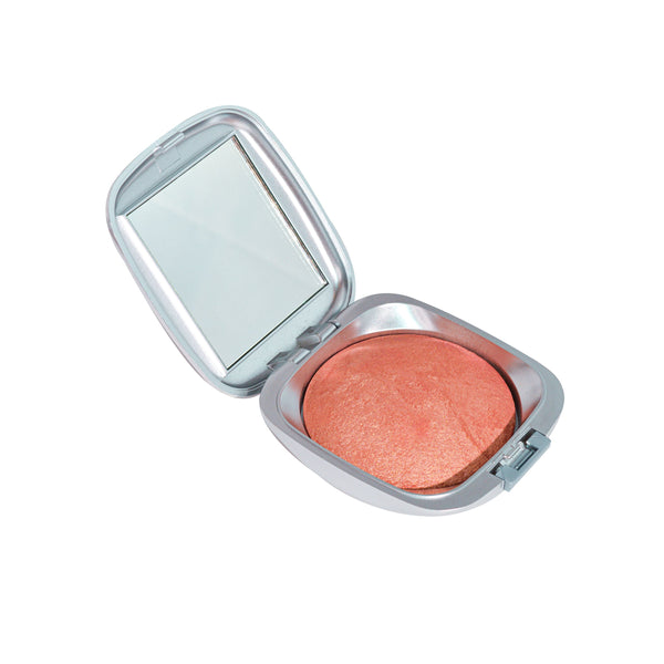 Apricot Swirl Mineral Baked Blush - Alluring Minerals