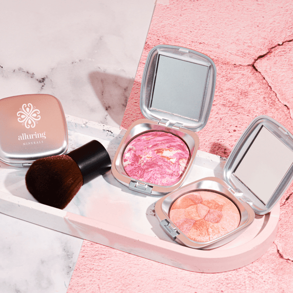 Mineral Baked Blush Colour Splash Angelic - Alluring Minerals