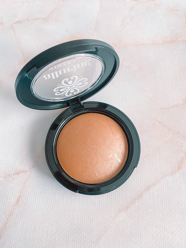 Baked Mineral Highlighter ~ Live in the Glowment - Alluring Minerals