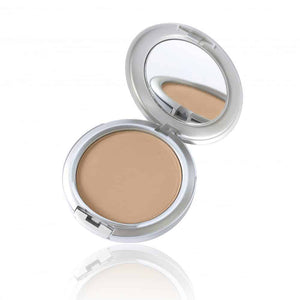 Pressed Mineral Foundation - Alluring Minerals - An elegant pressed Mineral Foundation, designed with a high coverage, lightweight finish. With longevity and oil-control, you can confidently rock a fresh, shine-free face all day