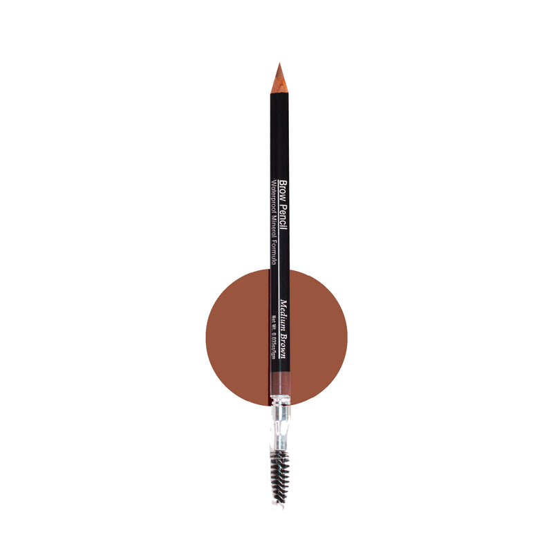 Waterproof Mineral Brow Pencil with Spoolie - Alluring Minerals