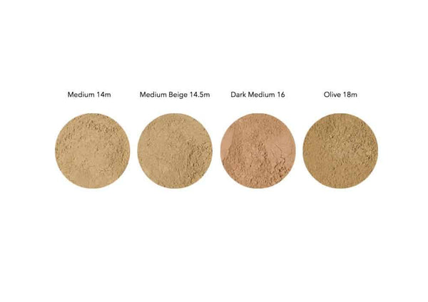 Mineral Foundation Powder Sample Pack - Alluring Minerals