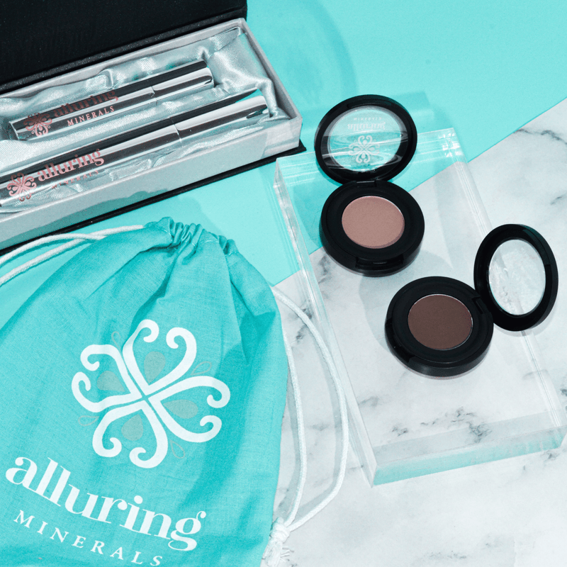 Pressed Brow Powder - Alluring Minerals