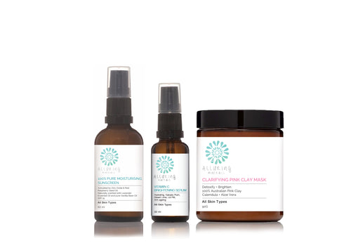 Protect & Brighten Skincare Pack - Alluring Minerals