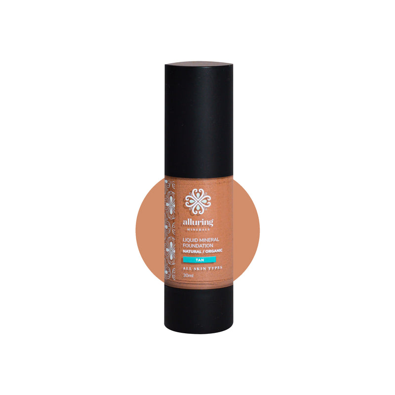 Liquid Mineral Foundation - Alluring Minerals