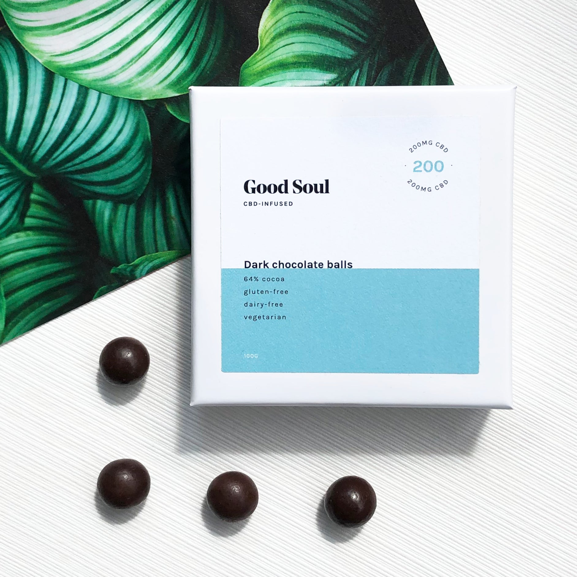 Premium CBD chocolate by Good Soul CBD - high cbd chocolate