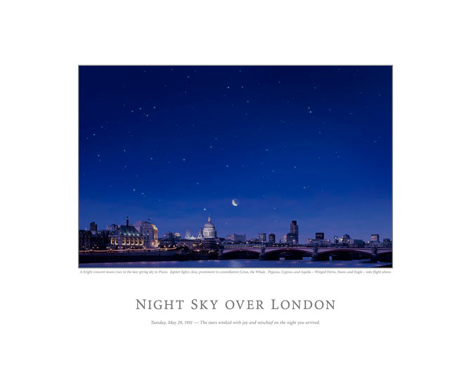 Night Sky Over London